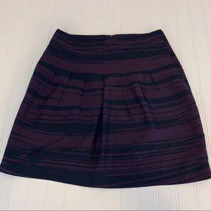 💯 % silk Banana Republic print skirt.